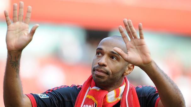 Former Arsenal captain Thierry Henry believes his old club are moving in the right direction