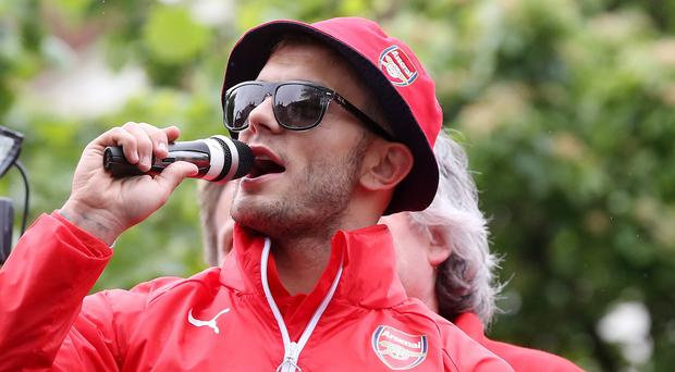 Jack Wilshere has been fined over his anti-Tottenham chanting