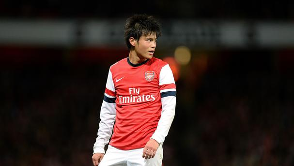 Japan winger Ryo Miyaichi has left Arsenal to join German club St Pauli