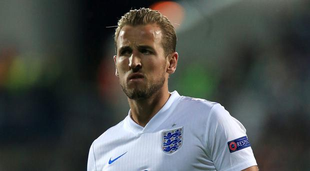 Harry Kane is on duty with England Under-21s in the Czech Republic