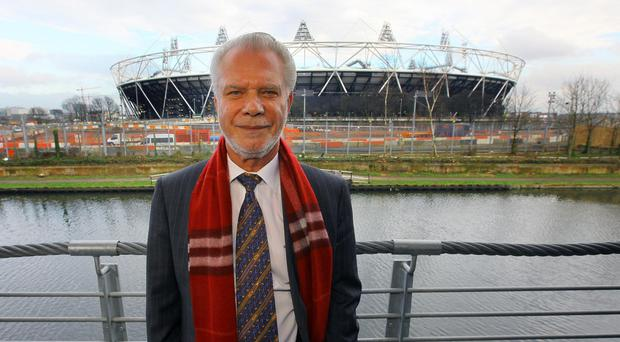West Ham co-chairman David Gold has the club's sights set high following their switch to the Olympic Stadium in 2016