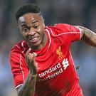 Liverpool's Raheem Sterling is on the move