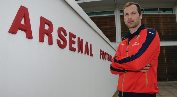 Petr Cech can't wait to get started with his new career at Arsenal
