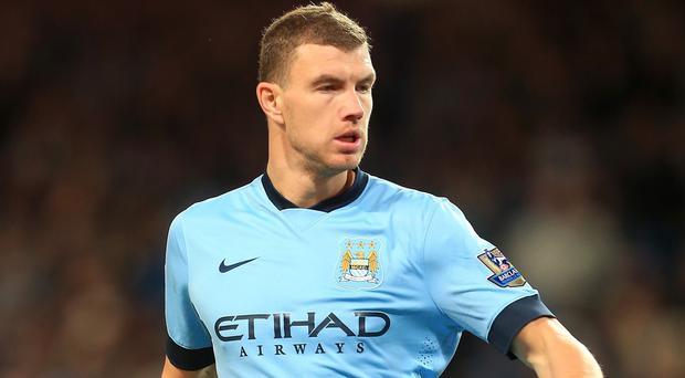 Edin Dzeko joined Man City from Wolfsburg in 2011 for £27m