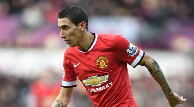Angel Di Maria, pictured, is one of the world's best players, according to Manchester United and Argentina team-mate Marcos Rojo.