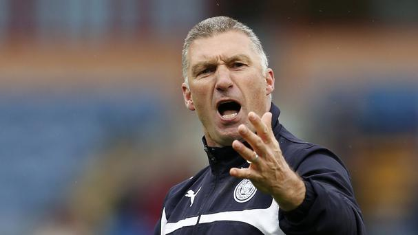 Nigel Pearson came back to manage Leicester for a second time in November 2011