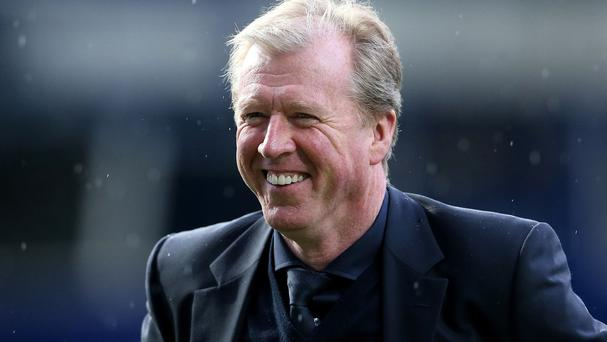 Steve McClaren announced his coaching staff in an unusual way