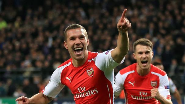 Lukas Podolski looks set to leave Arsenal this summer