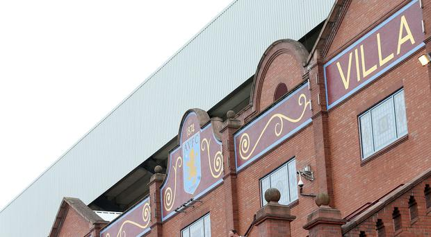 Villa Park will host a Friday evening fixture