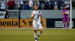 LA Galaxy striker Robbie Keane