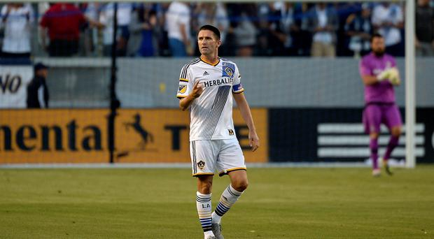 LA Galaxy striker Robbie Keane.