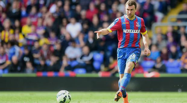 James McArthur has signed a new deal with Crystal Palace