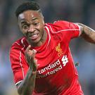 Liverpool's Raheem Sterling was named in the squad for their pre-season tour