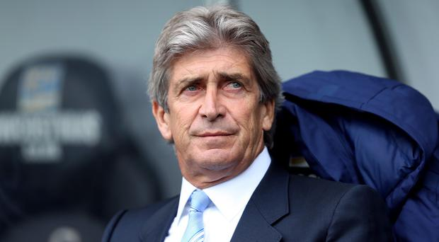 Manuel Pellegrini will take his Manchester City side to face Stuttgart in August