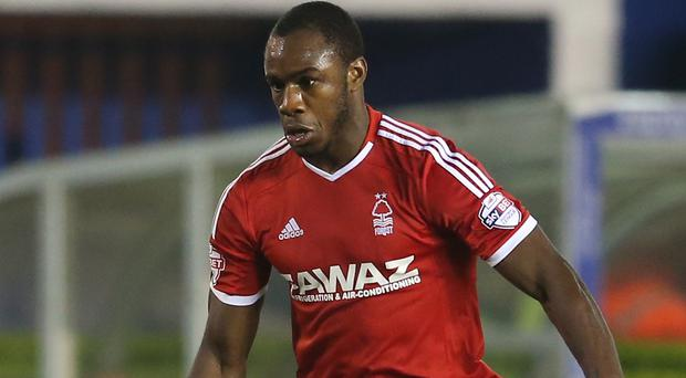 Nottingham Forest winger Michail Antonio is a target for West Brom