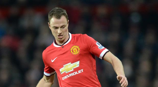 United are looking to move Jonny Evans on after eight years in the first-team squad