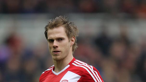 Tomas Kalas is back at Boro on loan from Chelsea