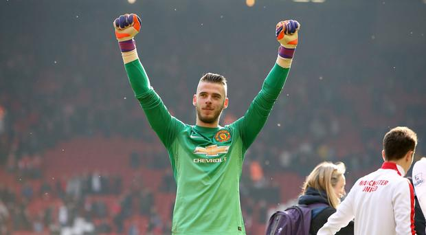 David de Gea has been United's player of the year for the last two seasons