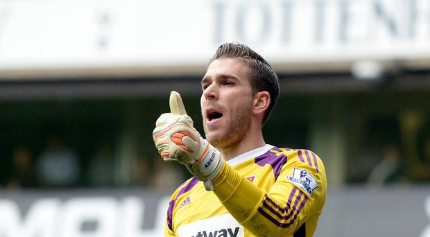 West Ham goalkeeper Adrian, pictured, is ready for a different style of play under new manager Slaven Bilic