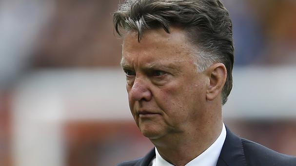 Louis van Gaal was unhappy with the state of the pitch in Seattle