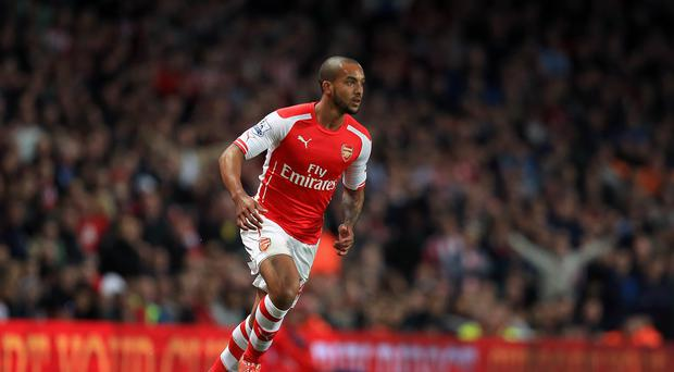 Theo Walcott scored for Arsenal in the Asia Trophy final