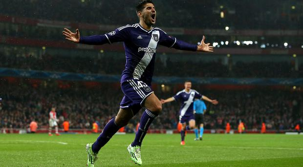 Newcastle manager Steve McClaren has added Aleksandar Mitrovic, pictured, to his squad
