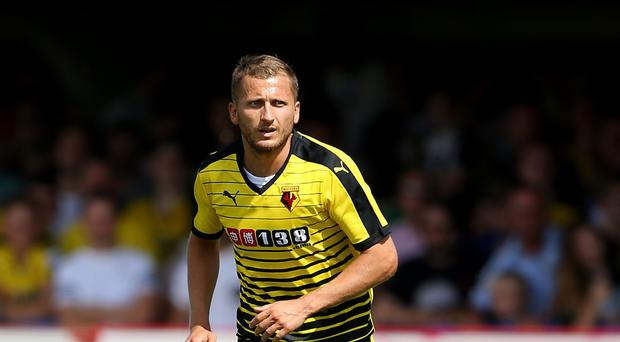 Almen Abdi has signed a new three-year contract at Watford