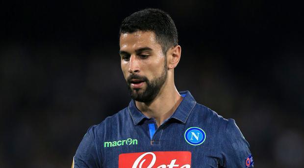 Defender Miguel Britos has joined Watford from Napoli