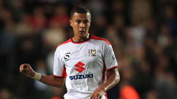 Tottenham signed Dele Alli from MK Dons in February 2015