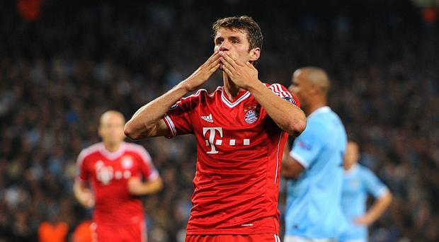 Thomas Muller is a wanted man