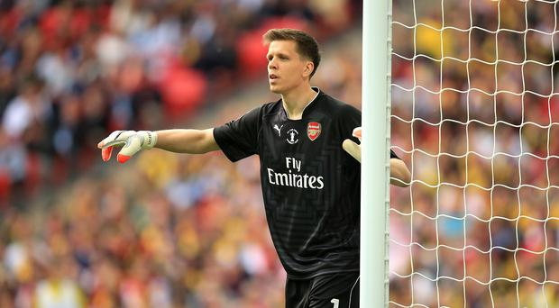 Wojciech Szczesny, pictured, is rated highly by Arsene Wenger