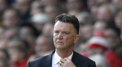 Manchester United manager Louis van Gaal wants more new faces