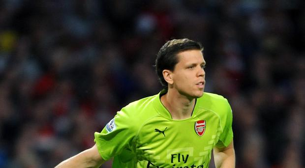 Wojciech Szczesny will represent Roma during the 2015-16 season