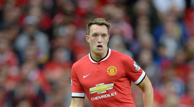 A mistake from Phil Jones led to Paris St Germain's opening goal
