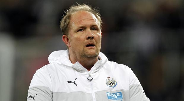 Andy Woodman is heading for a new job at Crystal Palace
