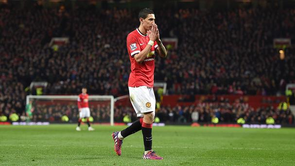 Angel di Maria is set to sign for Paris St Germain after one season with Manchester United