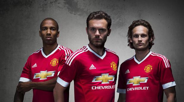 The neckline on the men's kit seen here is much higher than the women's version