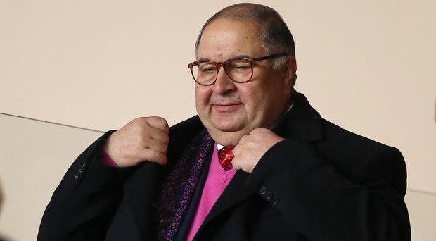 Alisher Usmanov wants Arsenal to dip into the transfer market once more