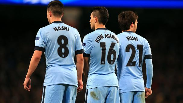 Samir Nasri, Sergio Aguero and David Silva are all expected to be fit for Monday's Premier League opener