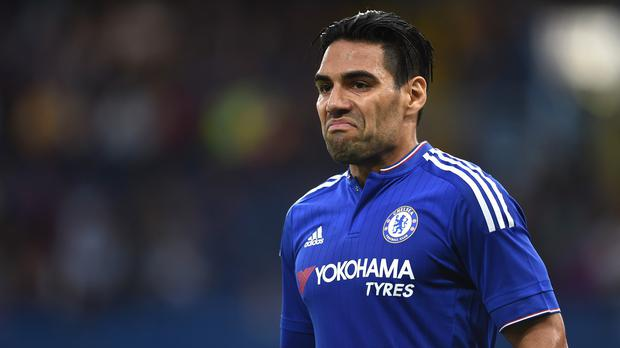 Radamel Falcao struggled to get to grips with the Premier League at Manchester United