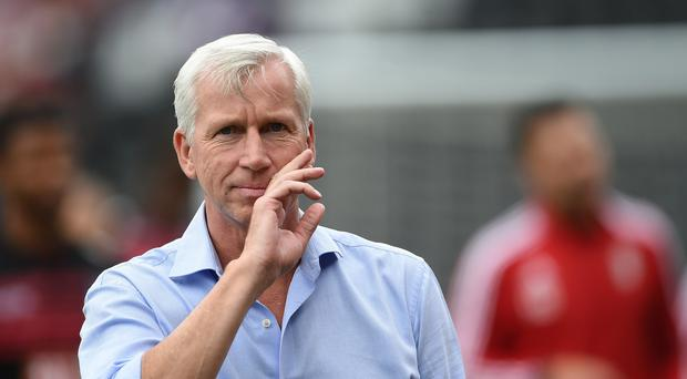Alan Pardew has no plans for Crystal Palace to make any further signings
