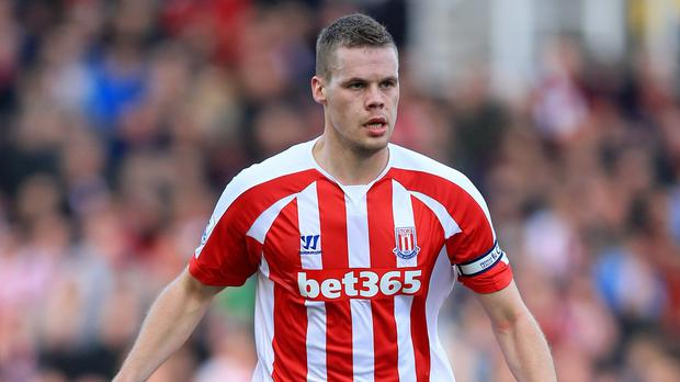Ryan Shawcross has suffered a recurrence of the back issue he struggled with last term