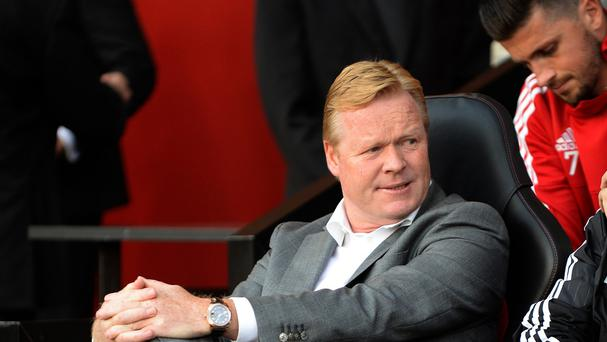 Injured Ronald Koeman may not be in the dugout for the season opener against Newcastle