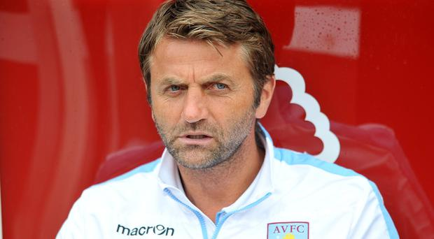 Tim Sherwood is only focussing on players still at Aston Villa