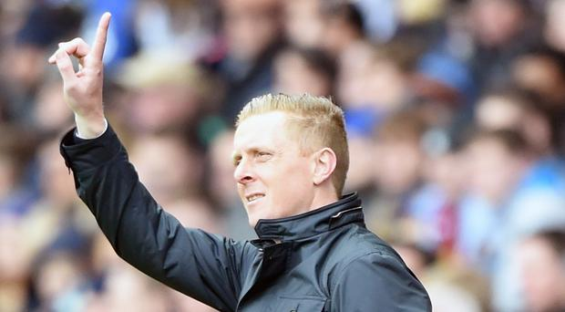 Swansea manager Garry Monk is in confident mood ahead of the new season