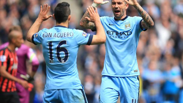 Manchester City's Sergio Aguero has changed his shirt number