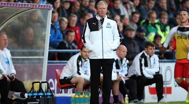 Steve McClaren is ready for his first competitive game as Newcastle boss