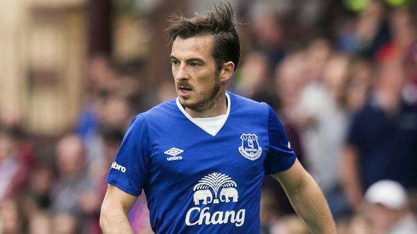 Leighton Baines has once again been sidelined by ankle issues