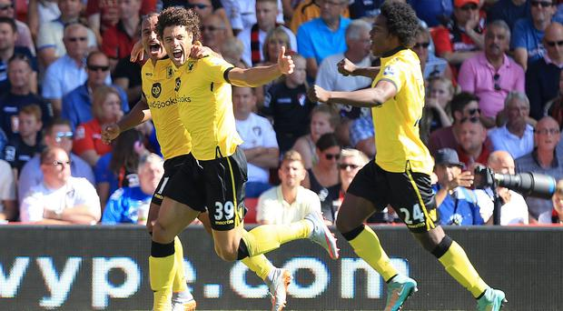 Rudy Gestede, number 39, scored on his Aston Villa debut