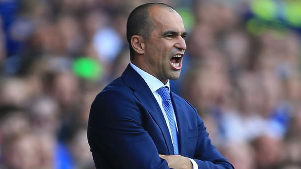 Roberto Martinez was furious with Everton's slow start